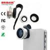 3 in 1 Fisheye Wide Angle Macro Smartphone Lens Pipe Clip Selfie Lense