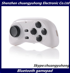 Cheap Bluetooth Controller Wireless Gamepad Joystick for Android / iOS Smart Phone Smartphone for 3D glasses Hot sale