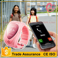 2015 high quality oem android smart gps tracker watch phone