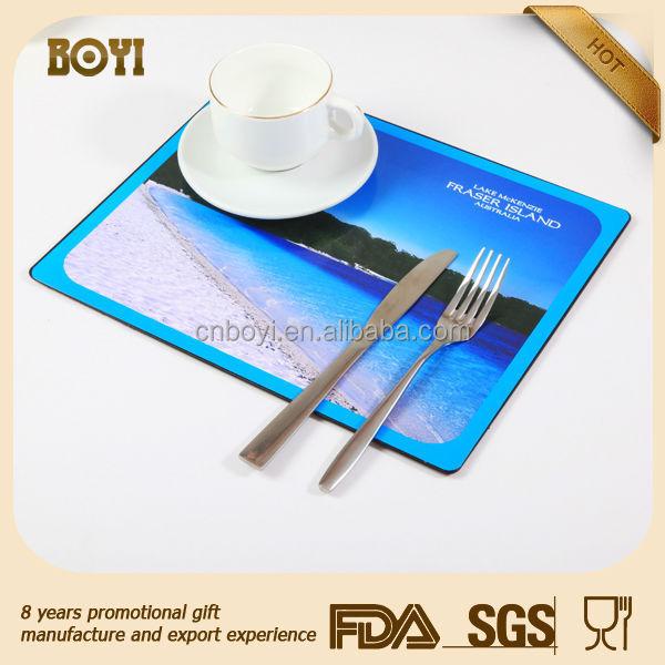 Personnalis restaurant de table sets jetable sets de - Set de table personnalise pour restaurant ...