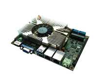 3.5inch rugged vehicle computer motherboard with QM87/HM86/HM87 Chipset support 24bit LVDS for Thin client