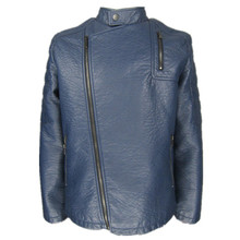 very cheap wholesale cheap men's hight quality pu leather jacket washed slim fit motorcycle jacket