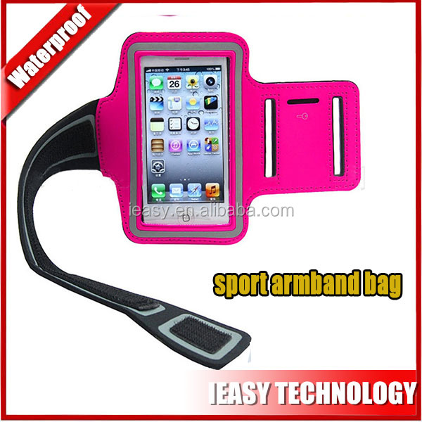 Popular sport armband bag neoprene running sport armband case