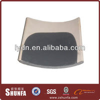 Dark grey matt ceramic roof tiles for Chinese buildings