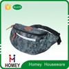 Customize leather waist bag water bottle holder pack Fanny bag