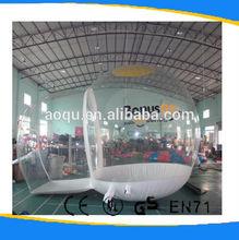 Claro pvc ao ar livreinflável tenda bolha/utilizado bolha popular barraca para venda