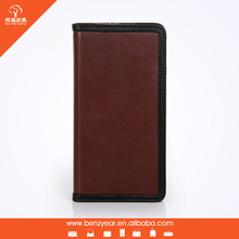 Mixed-colors pu wallet case for smartphone Apple iphone