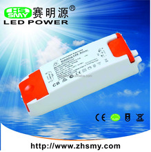 PFC constant current triac dimmable led driver 36w 1000mA/36v dimming driver