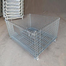 High quality & beset price of Steel wire mesh Storage Folding Cage