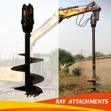 Earth Drill ,Earth Auger for Excavator Attachment