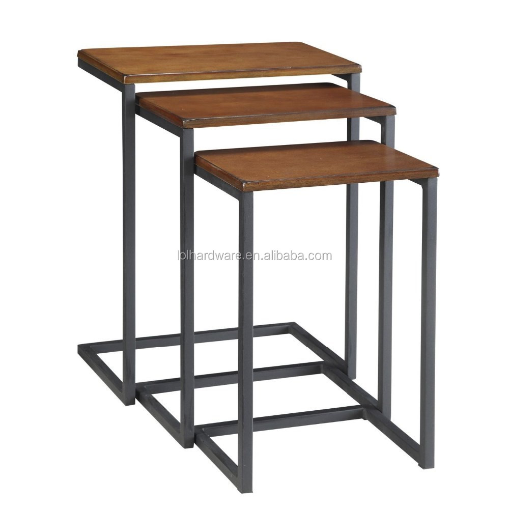2015 new design metal base nesting table end table buy for Latest side table designs