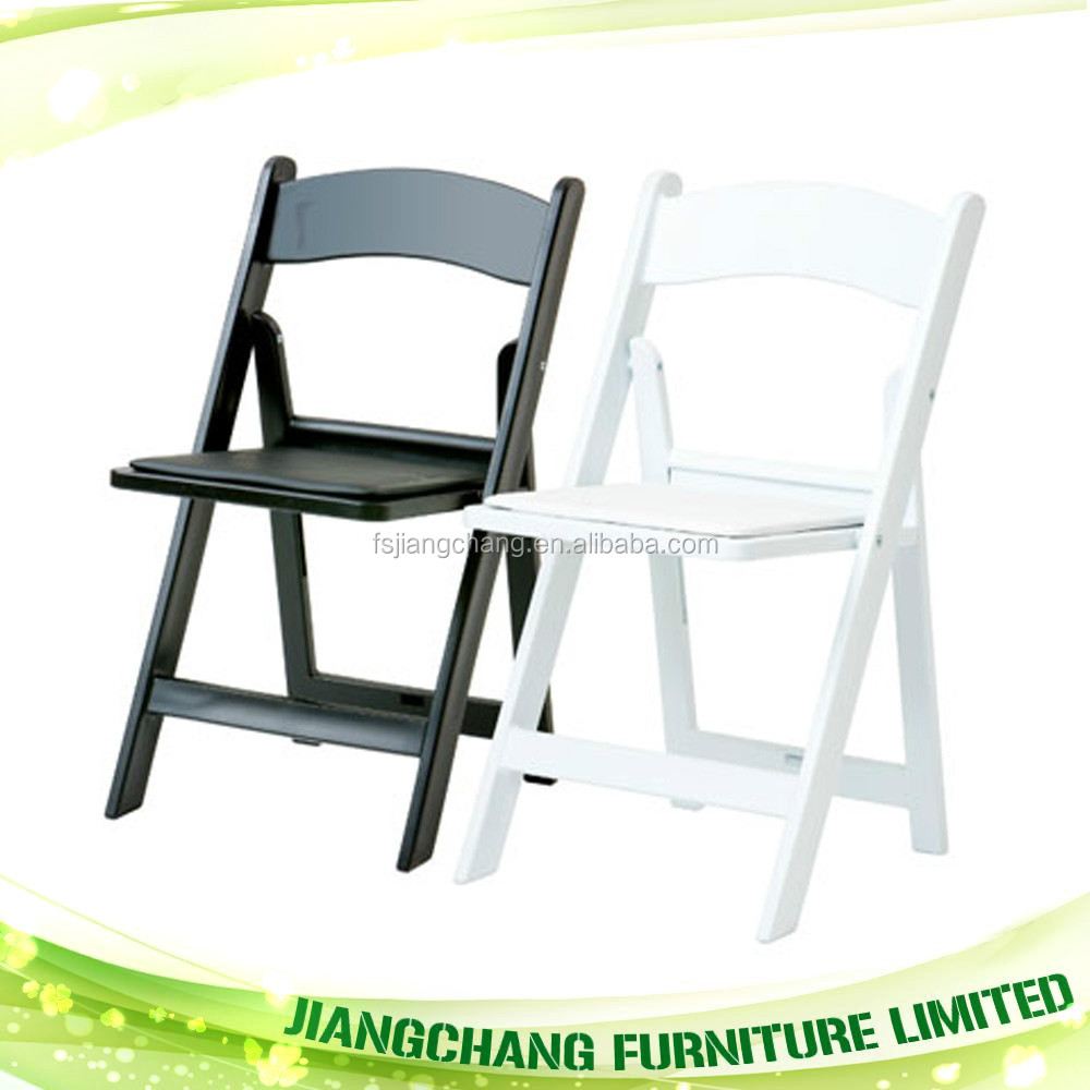 Cheap Outdoor Wedding Resin Folding Chair