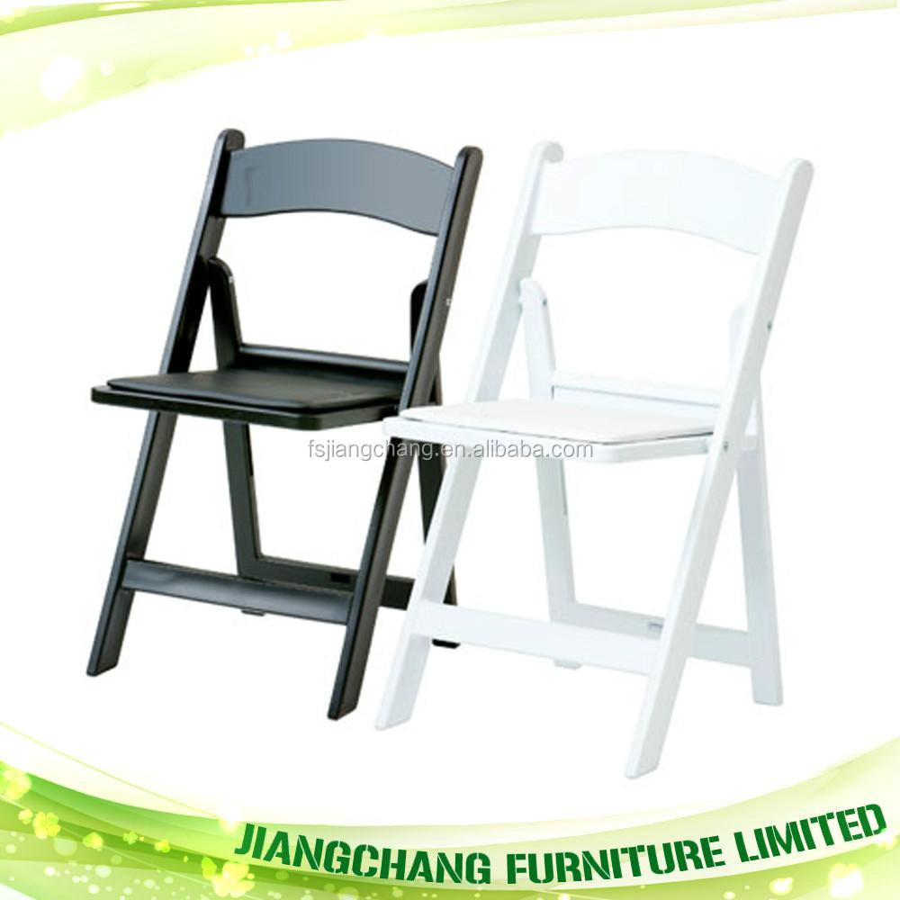 Cheap outdoor wedding resin folding chair