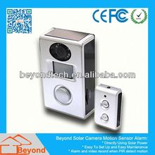 Business Dvr With Sd Card Solar Camera Alarm With Video Record and Solar Panel
