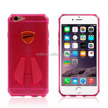 Perfect feel touch design ,tpu car style case for iphone 6