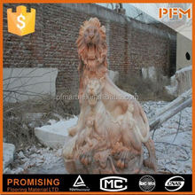 2014 PFM hot sale natural beautiful hand carved barocco marble statue
