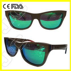 High quality and fashionable wood glasses frame with bamboo box and wholesale case