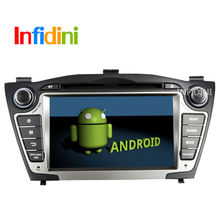 2015 new!Pure Android 4.2 Car DVD GPS+Glonass for Hyundai iX35 Tucson 2009 2010 2011 2012 with 3g WiFi Capacitive radio Canbus
