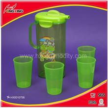 BPA free water jug, plastic jug with handle HX0010758