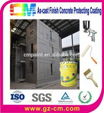 Fabricante de ao ar livre à prova d ' água pintura - construção externa concret muro de proteção revestimento decorativo