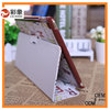 High Quality Book Style Design Leather cover for ipad air case made by china factory