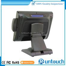 """Runtouch Capacitive Touch Android flat touch screen 15.6"""" POS Terminal with 80mm Thermal Receipt Printer & Cash Drawer"""