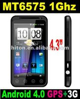 CHEAPEST 4.3inch Cortex-A9 MTK6575 1Ghz Mobile phone,smart Phone, Smartphone,Cell Phone with MT6575 Cortex-A9 1Ghz or 1.0Ghz cpu