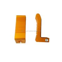 Folding CNC Footpegs Mini 2 stroke 43CC 47CC 49CC Pocket Dirt Bike Foot Pegs