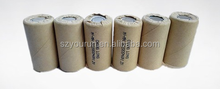 New Universal SC NI-CD Power Tools Battery Cell 2000mAh 1.2V Rechargeable Batteries Packs