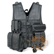 Police Vest with Nylon ISO standard waterproof nylon vest with Four Ply Nylon Thread Stitched