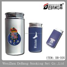 Simple refillable paint gas lighter