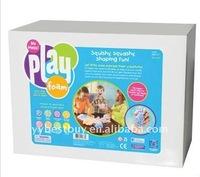non-dry bouncing kids foam putty class series