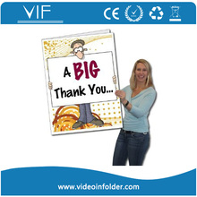 Tft regalo del saludo mejor calificación barato tarjeta de vídeo /