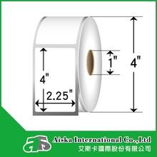 "2.25"" x4"" térmica directa etiqueta etiqueta personalizada"