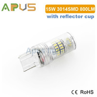 800LM Epistar 3014SMD 12-30V 7440 7443 T20 led auto parts 2014 new products