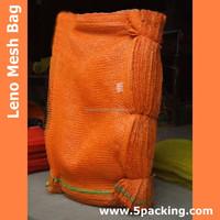 PP Colorful Leno Mesh Bag for Fruit & Vegetable Packing