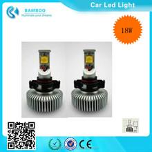 Wholesale 5202 18W DC 9~32V Auto Car Led dipped head lamp light bulbs kit