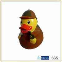 Hot selling smoking cute bathing PVC duck