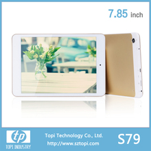 7.85 inch S79 minis quad core RK 3126 chip tablet pc