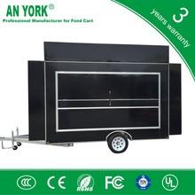 FV-55 best kiosk food car new steel mobile food trailer electrical motorcycle food car