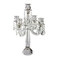 5 brazo antigua crystal chandelier prism MH-1174