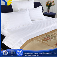 queen bed manufacter plain luxury quality turkish hotel bedding set