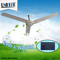As seen on tv non electric ceiling fan with wall mounted regulation 12V dc ceiling fan