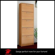 Ikea Furniture Flat Pack Furniture Home Storage Space Saving Affordable Beech Wood 5 Tier Shoe Shelf