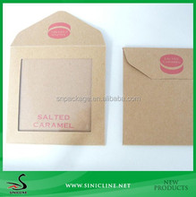 Sinicline Kraft Paper Small Envelope Bag For Package