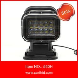 High Power Square 50w Led Driving Light,50w Square Led Work Lamp,For 4x4,Heavy Duty,Offroad