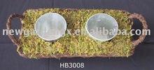 Moss Zinc Flower Planter