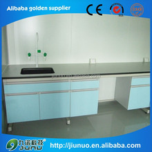 Commercial laboratory furniture compact panel PP material science lab work table