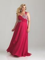 Сексуальная одно плечо плюс размер Пром платья vestido де Феста спинки вечернее платья 100% качество гарантия