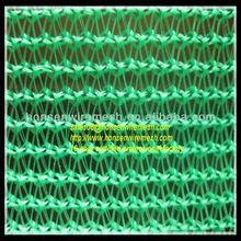 16-year factory!!! Green color 120gsm plastic solar shade nettings